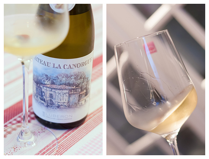 Chateau La Canorgue Blanc 2012 Luberon AOC Provence Tasting