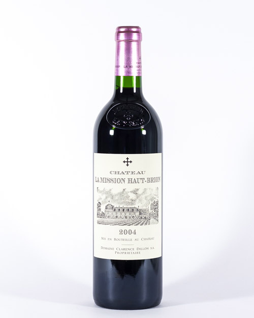 Chateau La Mission Haut-Brion Grand Cru Classé de Graves 2004 |