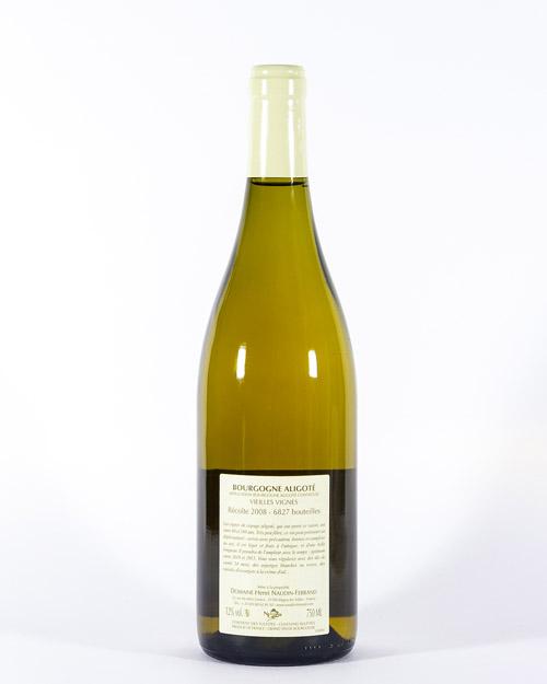 Domaine Naudin-Ferrand Bourgogne Aligoté Vieilles Vignes 2008 |